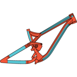 RideWrap Covered Protection – MTB Kit