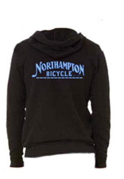 Northampton Bicycle Northampton Bicycle Zip-Up Hoodie Sweatshirt