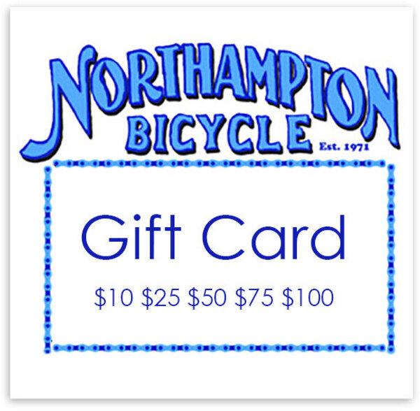 Northampton Bicycle Gift Card