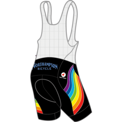 Northampton Bicycle RAINBOW SUMMIT RAPTOR BIB MEN'S