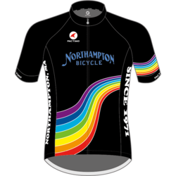 Northampton Bicycle RAINBOW ASCENT AERO JERSEY MEN'S