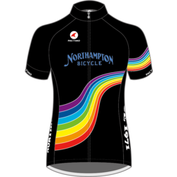 Northampton Bicycle RAINBOW ASCENT AERO JERSEY WOMEN'S