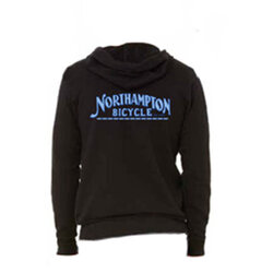 Northampton Bicycle Northampton Bicycle Zip-Up Hoodie Sweatshirt