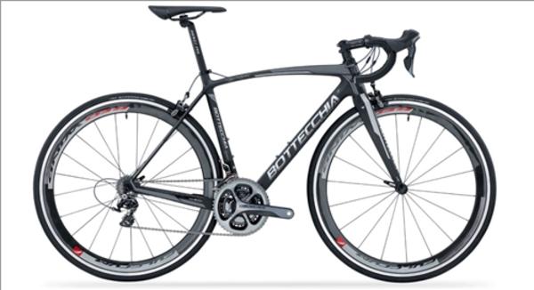 Bottecchia Bicycles Bottecchia 8AVIO EVO Road Bike 105/Ultegra Mix - Matte Carbon