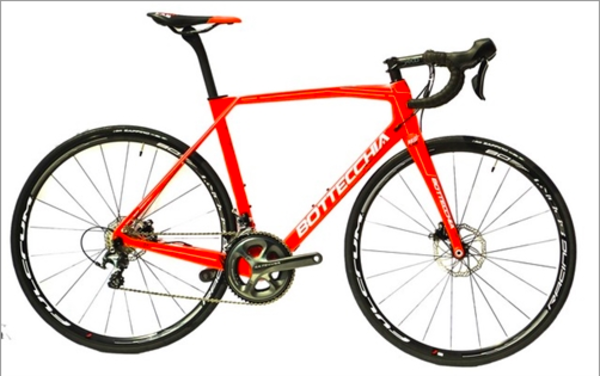 Bottecchia Bicycles Bottecchia T2 DOPPIA Red Lab Ultegra Disk