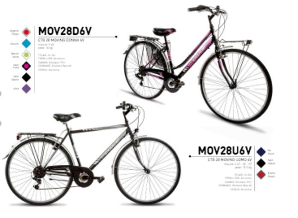 Casadei Bici MTB 28 Moving Donna 6V Nero Fuxia