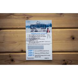RCR Savings Card