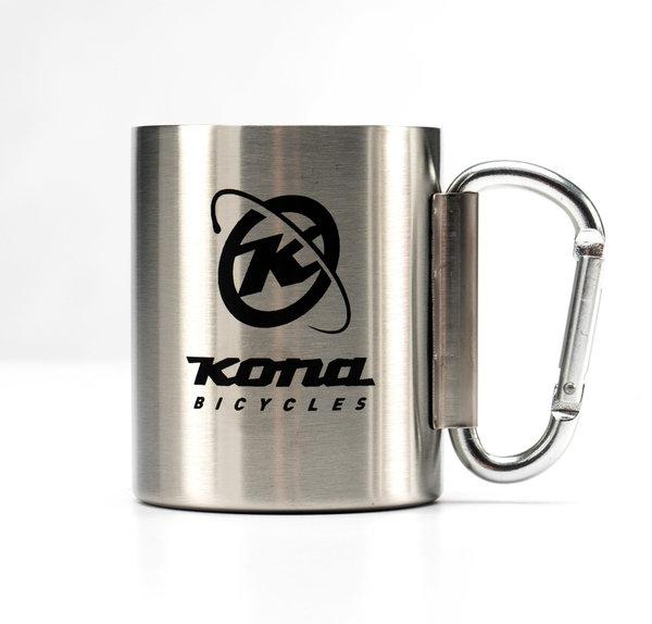 Kona Stainless Carabiner Camping Coffee Mug