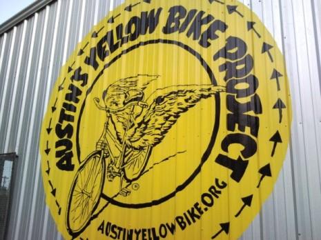 austins yellow bike project