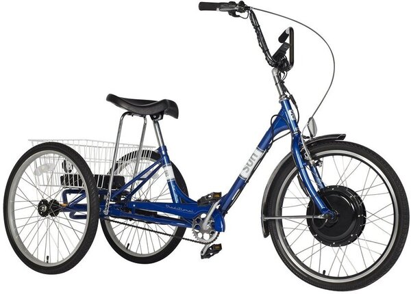 Sun Bicycles Electric Traditional Trike 24