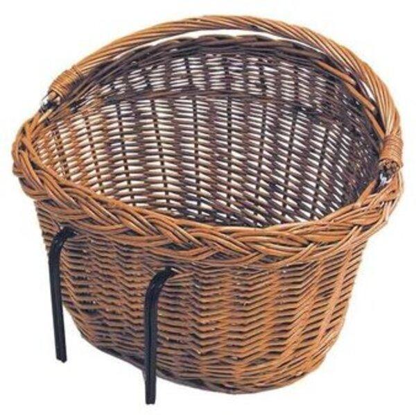 Basil Detroit Front Wicker Basket