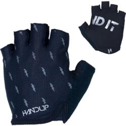 Hand Up Open Finger Gloves Black
