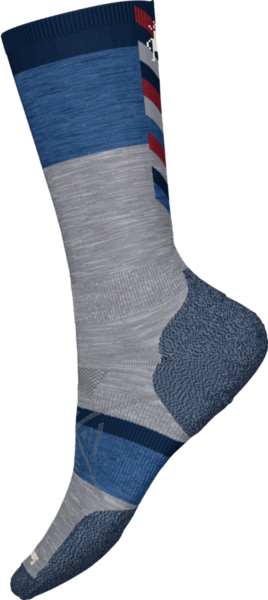 Smartwool PhD Nordic Light Elite Pattern Light Gray