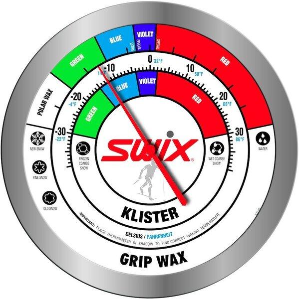 Swix Round Wall Thermometer R220
