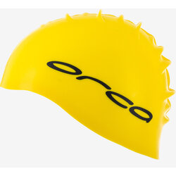 Orca Silicone Swim Cap Yellow