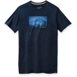 Smartwool Men's Merino Sport 150 Mount Hood Moon Graphic Tee Deep Navy