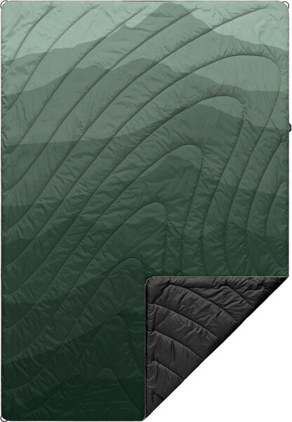 Rumpl Original Puffy Travel Blanket Color: Cascade Print