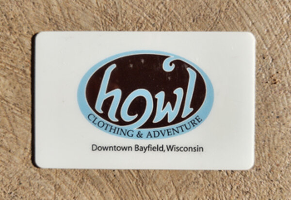Howl Adventure Center Howl Gift Card