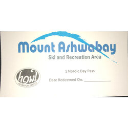 Mt Ashwabay Day Pass Nordic