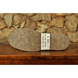 Brand Felt 13mm Pressed Wool Insoles