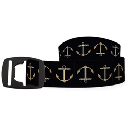 Croakies Black Buckle Belt