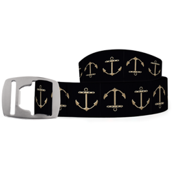 Croakies Silver Buckle Belt