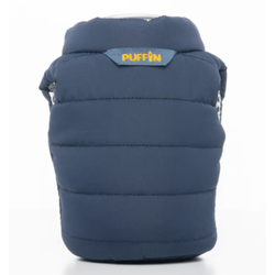 Puffin Can Cooler Blue/Gold Vest