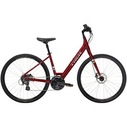 Trek VERVE 2 DISC LOW STEP XL RD