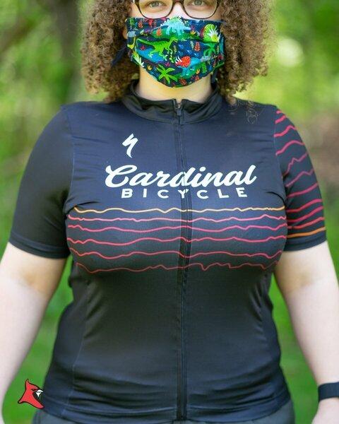 Cardinal Bicycle Women's Topo Jersey