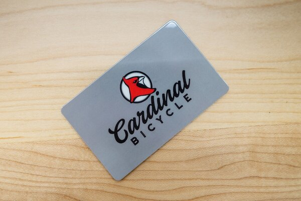 Cardinal Bicycle Gift Card