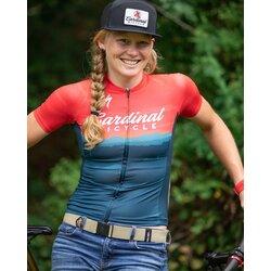 Cardinal Bicycle Women's Red Mountain - SL Jersey
