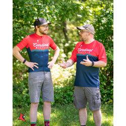 Cardinal Bicycle Men's Red Mountain Jersey