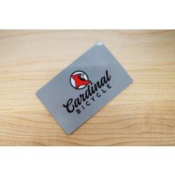 Cardinal Bicycle Gift Card