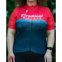 Cardinal Bicycle Women's Red Mountain - RBX Jersey