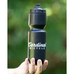 Cardinal Bicycle Black Water Bottle