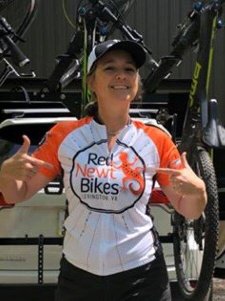 Red Newt Bikes Short Sleeve Jersey (NEW)