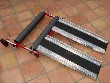 MCLAIN Wheelchair Rollers
