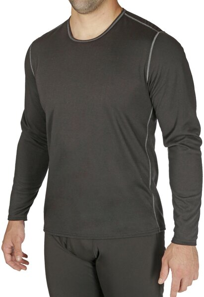 Hot Chillys Pepper Bi-Ply Performance Baselayer Crew Top - Men's