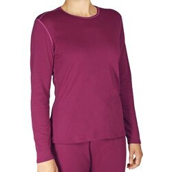 Hot Chillis Pepper Bi-Ply Performance Baselayer Crew Top - Women's