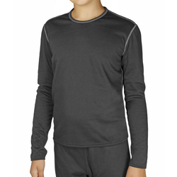 Hot Chillis Pepper Bi-Ply Performance Baselayer Crew Top - Youth