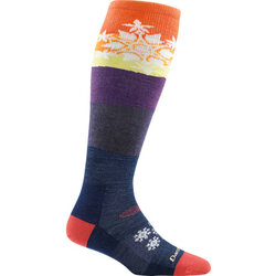 Darn Tough SNOWFLAKE OTC WOMENS SKI SOCK MIDWEIGHT WITH CUSHION