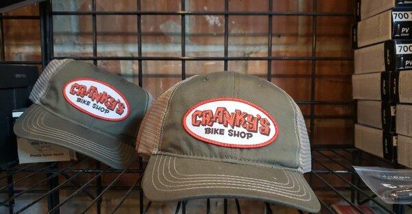 Cranky's Bike Shop Cranky's Bike Shop Patch Mesh Snapback Hat
