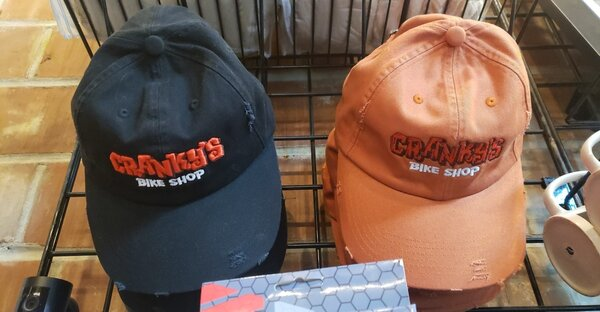 Cranky's Bike Shop Cranky's Bike Shop Embroidered Snapback Hat