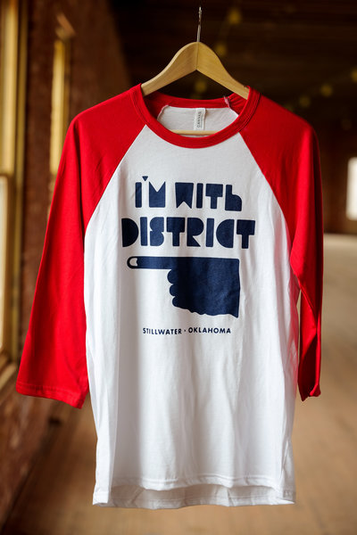 District Bicycles District Baseball T-Shirt