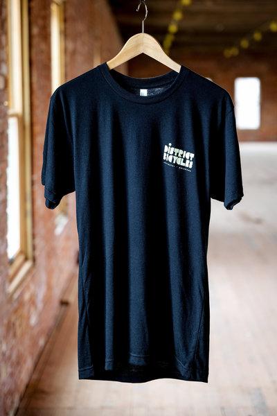 District Bicycles Black District T-Shirt