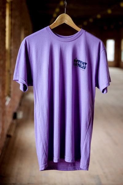 District Bicycles Purple District T-Shirt