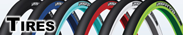 Fat tires, skinny tires, red tires, blue tires, 27.5 tires, 650 tires - Palm Springs & Palm Desert Cyclery carries them all!