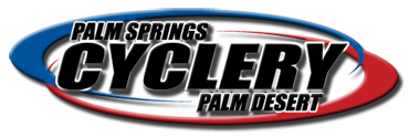 Palm Springs Cyclery logo link to homepage