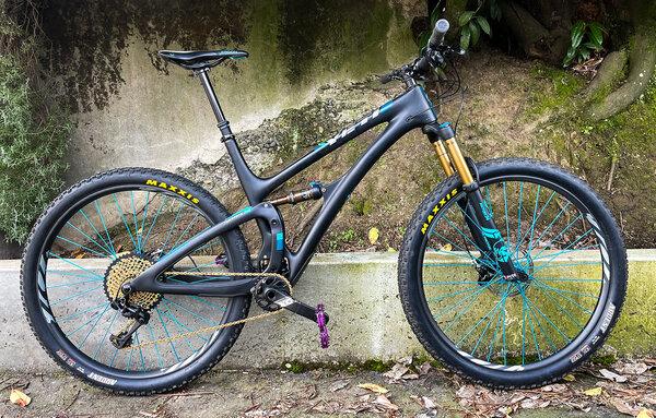Yeti Cycles SB4.5 TURQ (DEMO)