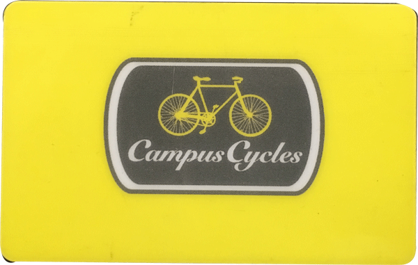 Campus Cycles Gift Card